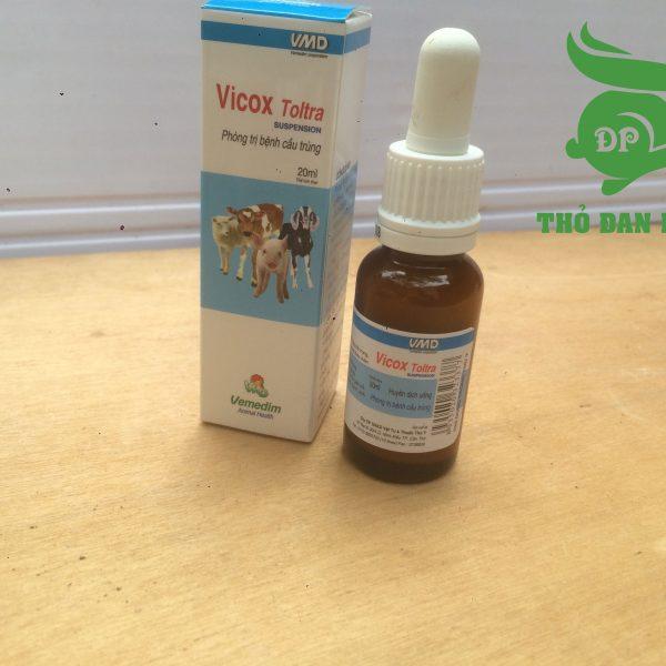 VICOX TOLTRA- Đặc trị cầu trùng gia cầm